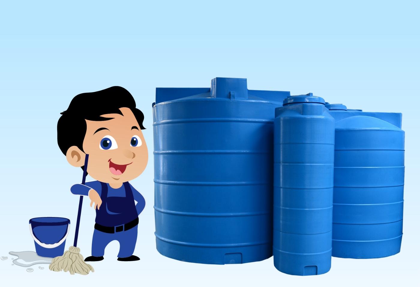تنظيف خزانات مياه الشرب بالشرقية